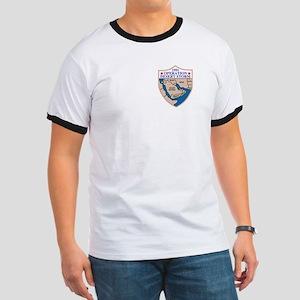 8th Infantry Division<BR> Ringer T-Shirt 1