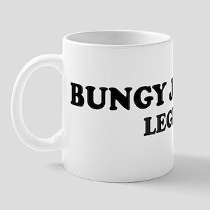 BUNGY JUMPING Legend Mug