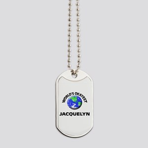 World's Okayest Jacquelyn Dog Tags