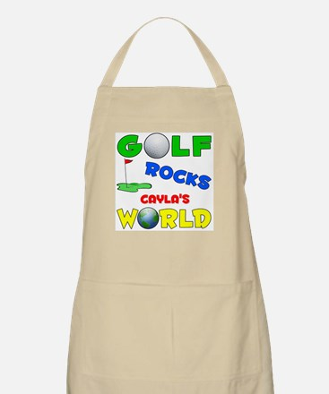 Golf Rocks Cayla's World - BBQ Apron