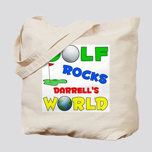 Golf Rocks Darrell's World - Tote Bag