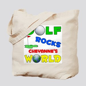 Golf Rocks Cheyanne's World - Tote Bag