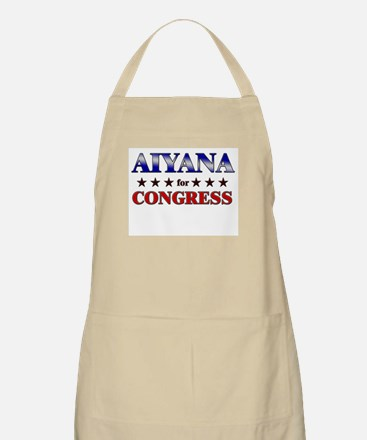 AIYANA for congress BBQ Apron