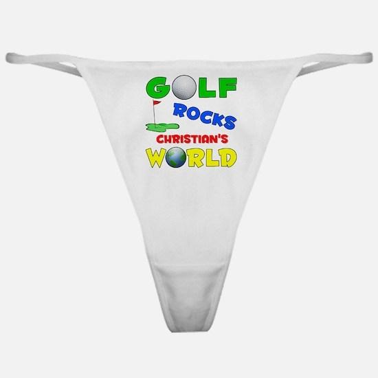 Golf Rocks Christiana's World Classic Thong