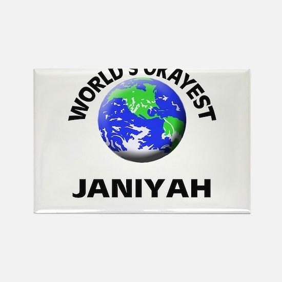 World's Okayest Janiyah Magnets