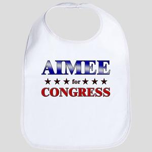 AIMEE for congress Bib