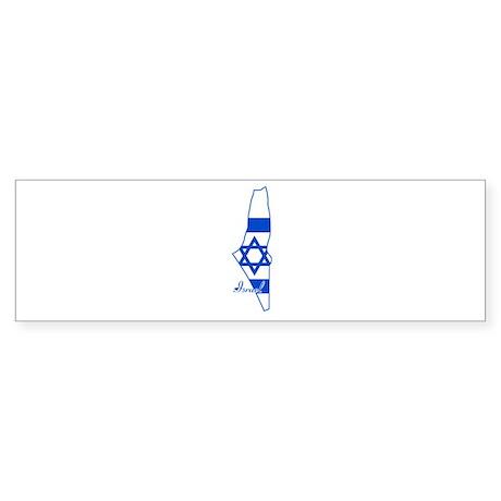 Cool Israel Bumper Sticker