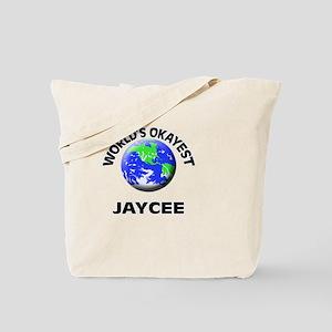 World's Okayest Jaycee Tote Bag