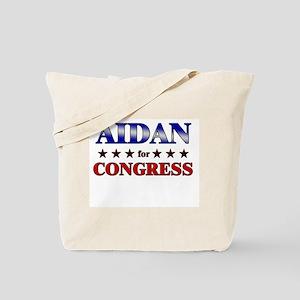 AIDAN for congress Tote Bag