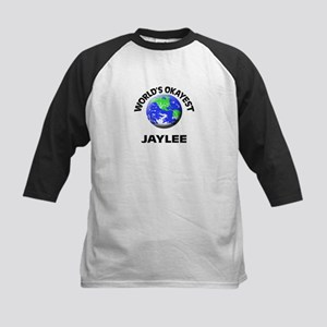 World's Okayest Jaylee Baseball Jersey