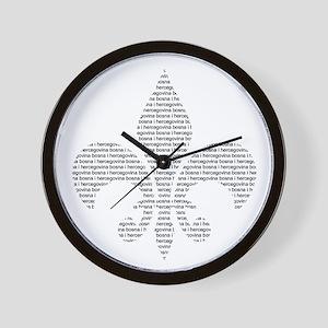 Bih Ljiljan Wall Clock