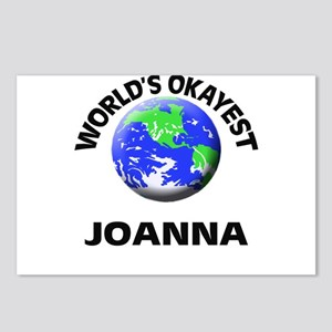 World's Okayest Joanna Postcards (Package of 8)