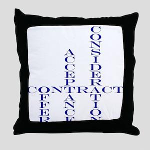 Contract Throw Pillow