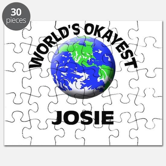 World's Okayest Josie Puzzle