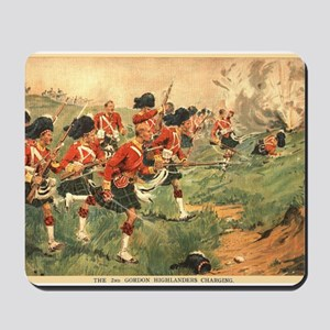 Gordon Highlanders Mousepad