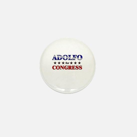 ADOLFO for congress Mini Button