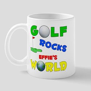Golf Rocks Effie's World - Mug