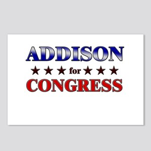 ADDISON for congress Postcards (Package of 8)
