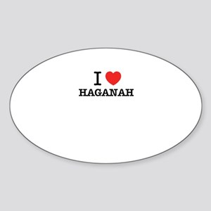 I Love HAGANAH Sticker