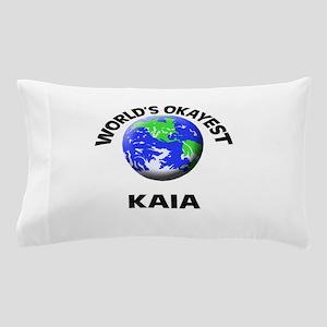 World's Okayest Kaia Pillow Case