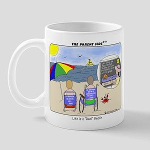 """Life's a """"Real"""" Beach! Mug"""