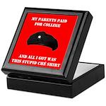 Stupid Che Shirt Keepsake Box