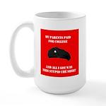 Stupid Che Shirt Large Mug
