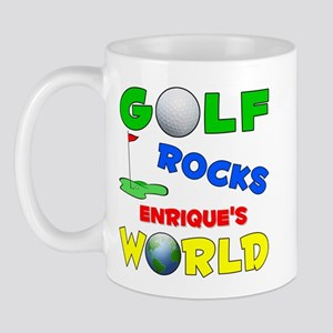 Golf Rocks Enrique's World - Mug