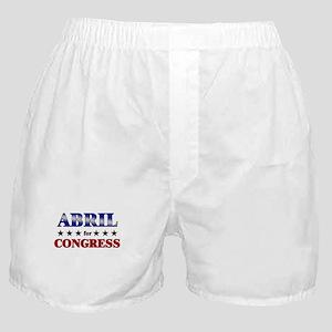 ABRIL for congress Boxer Shorts