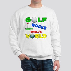 Golf Rocks Emely's World - Sweatshirt