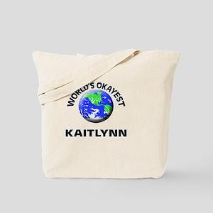 World's Okayest Kaitlynn Tote Bag