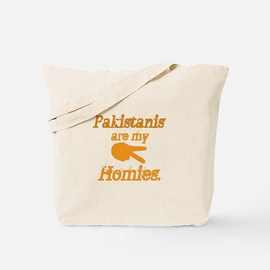 Pakistanis are my Homies Tote Bag