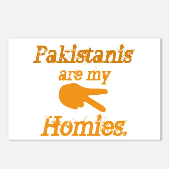 Pakistanis are my Homies Postcards (Package of 8)