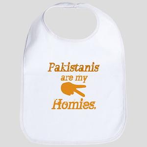 Pakistanis are my Homies Bib