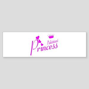 Pakistani Princess Bumper Sticker