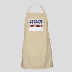 ABIGAIL for congress BBQ Apron