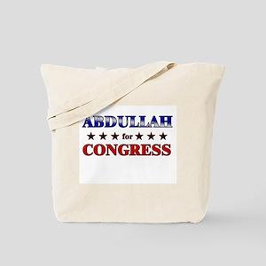 ABDULLAH for congress Tote Bag