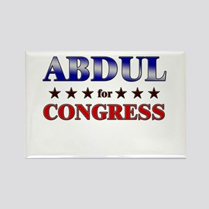 ABDUL for congress Rectangle Magnet