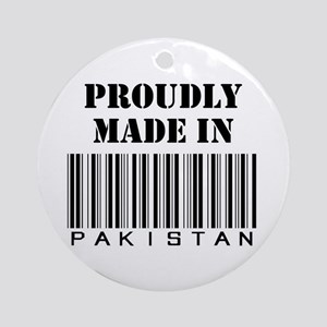 Made in Pakistan Ornament (Round)