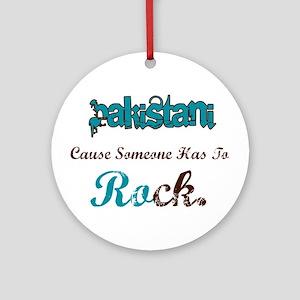 Pakistani Rocks Ornament (Round)