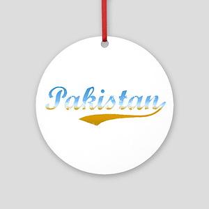 Pakistan beach flanger Ornament (Round)