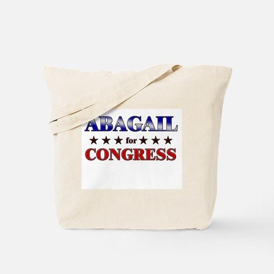 ABAGAIL for congress Tote Bag