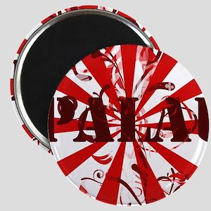 Palau red vintage Magnet