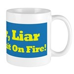 Liar, Liar Hillary Clinton Mugs
