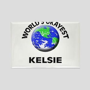 World's Okayest Kelsie Magnets