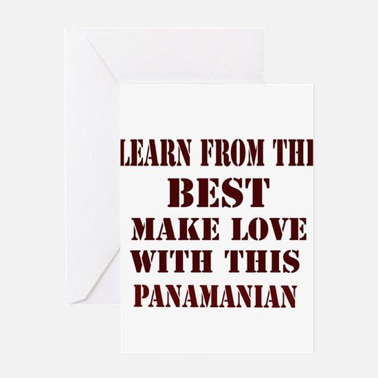 Learn best from Panamian Greeting Card