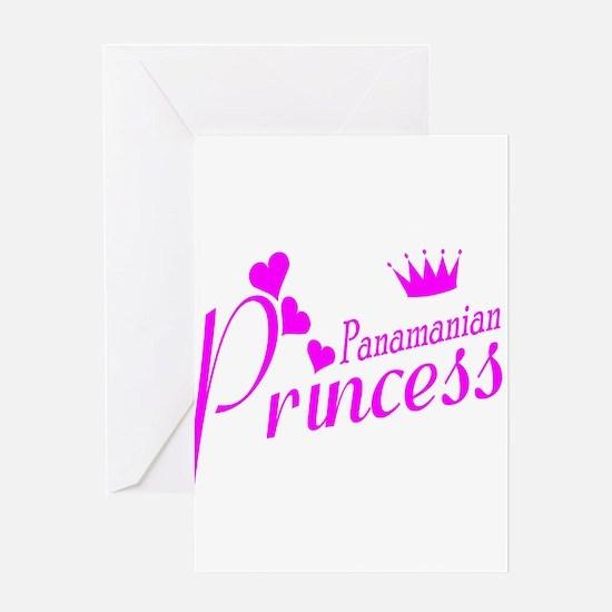Panamian Princess Greeting Card