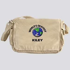 World's Okayest Kiley Messenger Bag