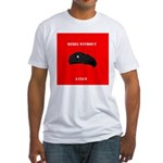 Che Revolution - Rebel Without a Clue Fitted T-Shi