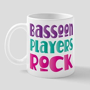 Bassoon Players Rock Mug